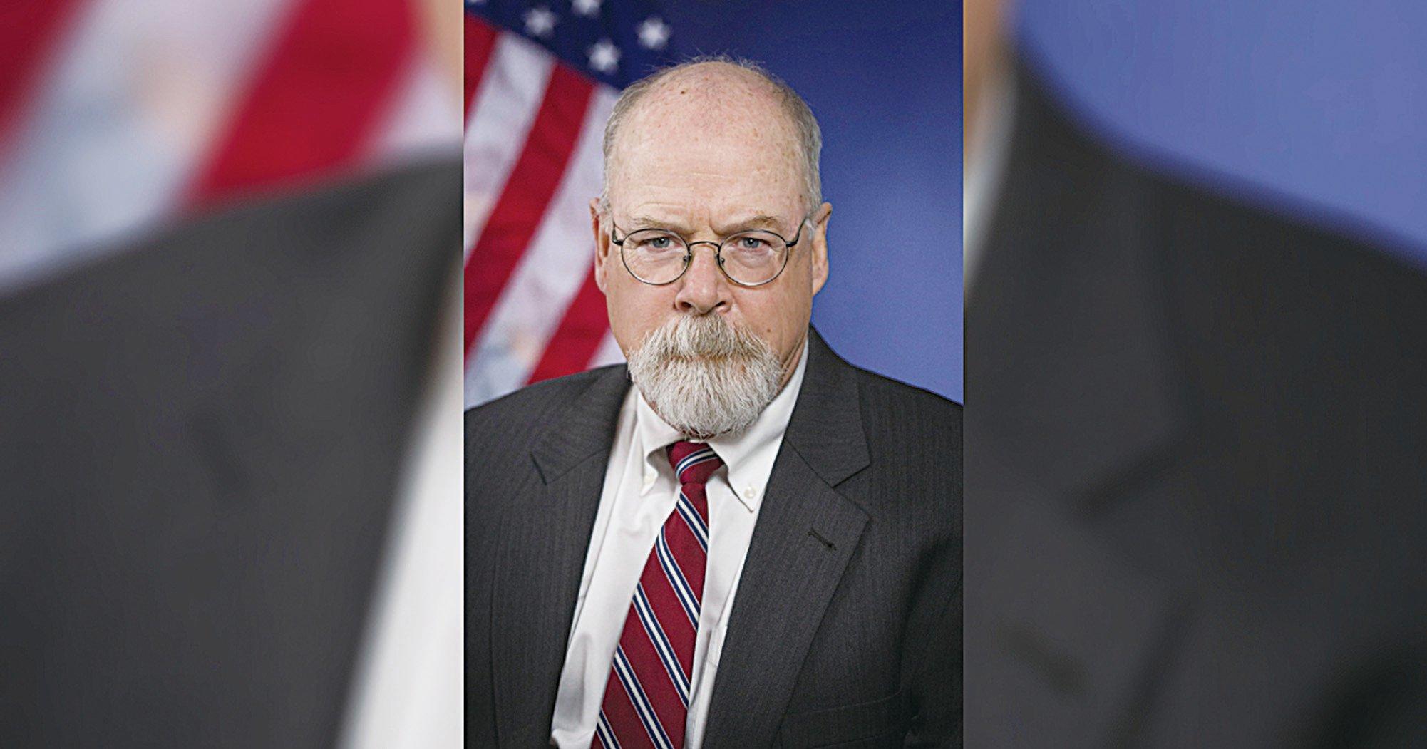 來自康涅狄格州的美國聯邦檢察官約翰達勒姆(John H. Durham)。(United States Department of Justice)
