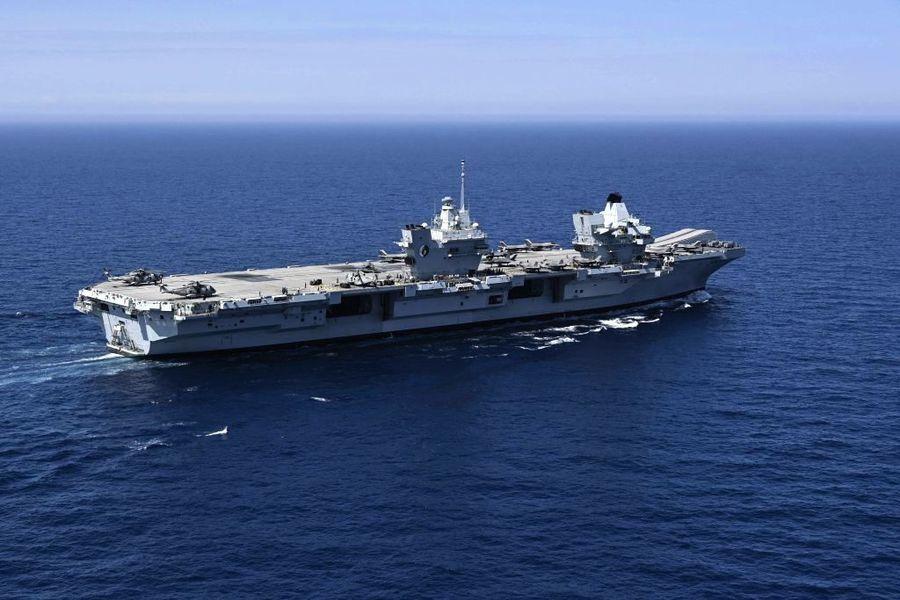 英國航母打擊群料9月抵日 擬與美日聯合軍演