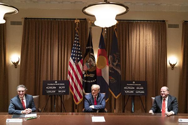 美國總統特朗普警告,美國「非常強烈地」反對中共加強控制香港。(白宮Flicker)