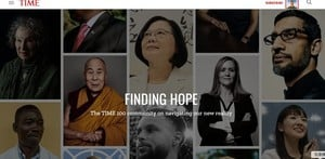 蔡英文專文登《時代雜誌》 分享台灣防疫經驗