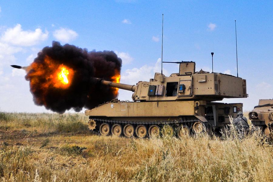 拜登政府首宗對台軍售 含40輛M109自走砲