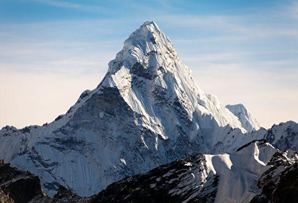 聖母峰是世界第一高峰。(Shutterstock)