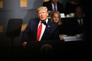 特朗普演講 聚焦美國經濟以及中美貿易談判