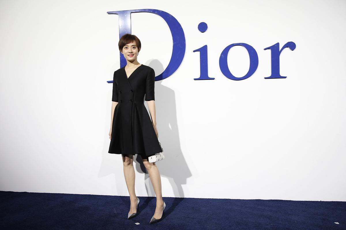 大陸女星孫儷資料照。(Lintao Zhang/Getty Images for Dior)
