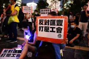 【9.20反送中】港人太古城以運動方式抗議