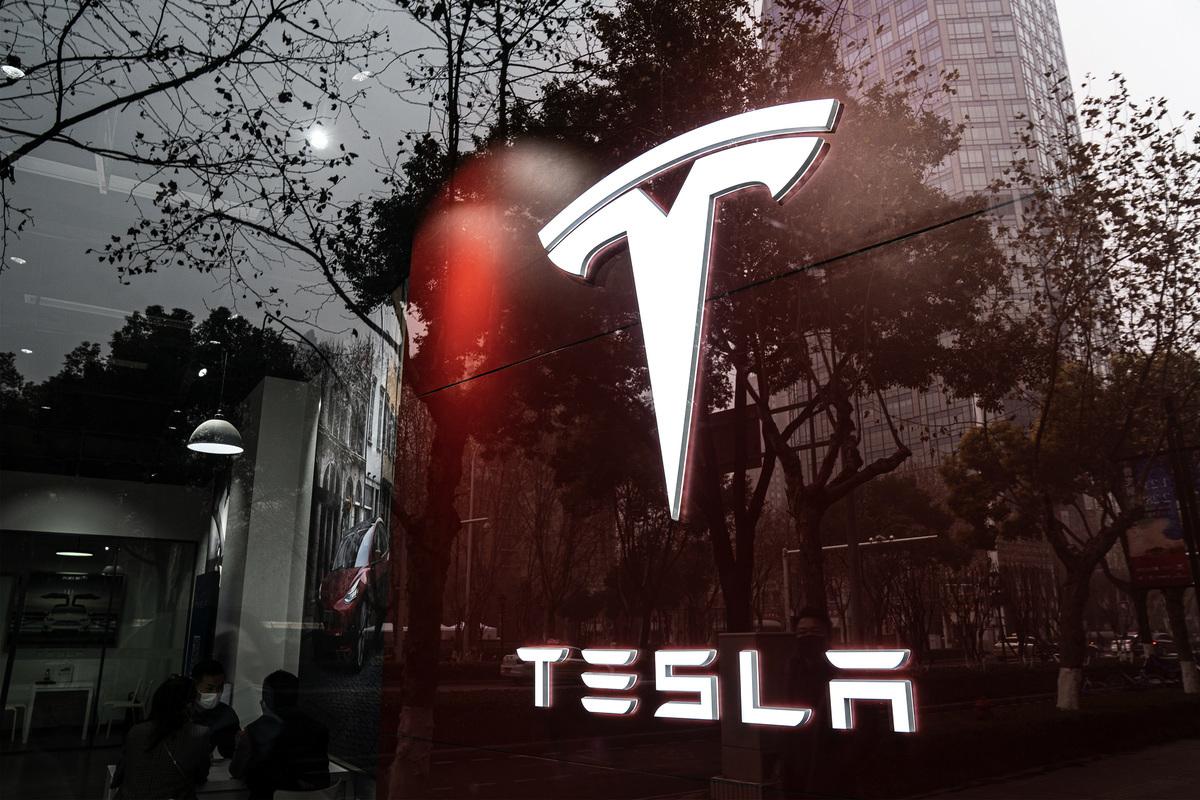 2021年1月23日湖北省武漢市Tesla門市。(Getty Images AsiaPac)