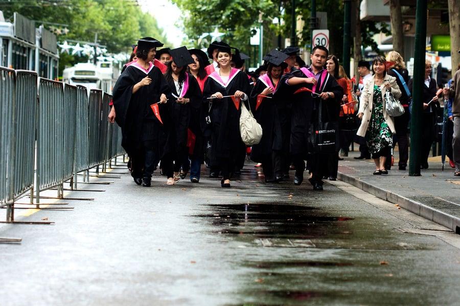 儘管中澳關係惡化 赴澳中國留學生人數增加