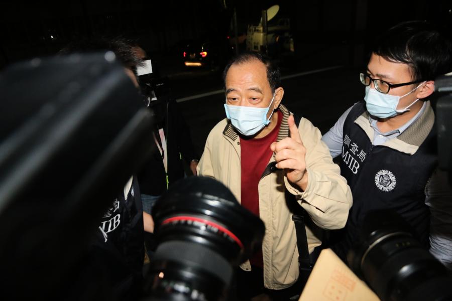 涉共諜案 台灣軍情局四退役將校遭起訴