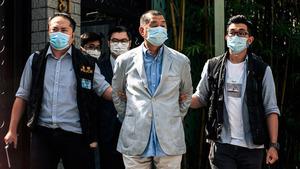千百度:逮捕黎智英,中共再現納粹的瘋狂