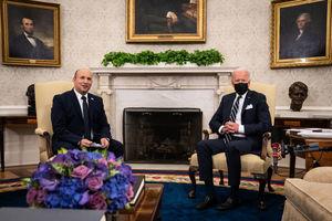 拜登會晤以色列總理 聚焦伊朗核談判