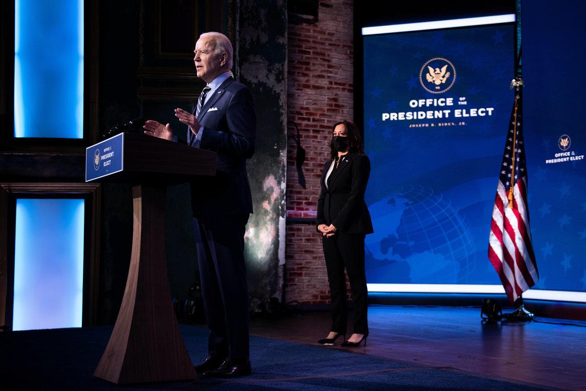 美國前副總統、民主黨2020年總統候選人祖拜登(Joe Biden)12月28日在特拉華州威爾明頓發表外交政策和國家安全講話。 (Brendan Smialowski/AFP)
