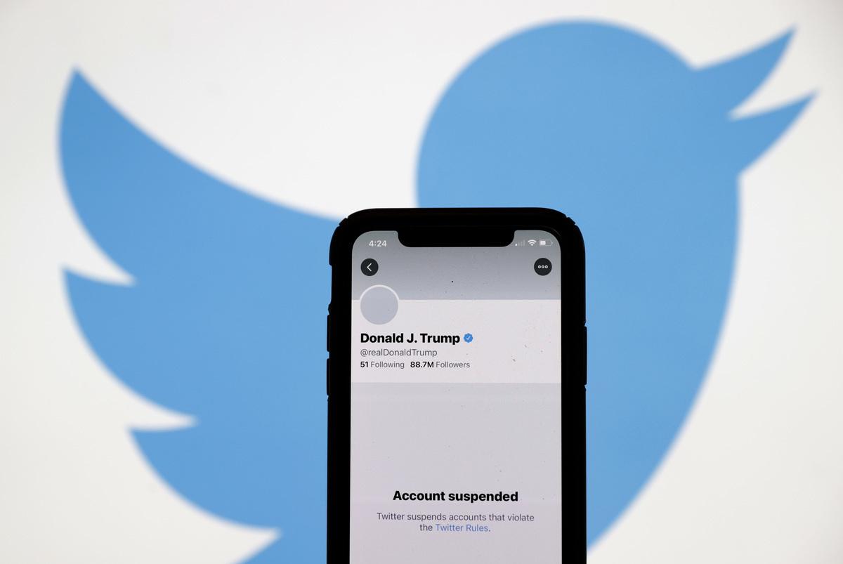 推特(Twitter)對僅僅表達不同政治觀點的用戶「去平台化」。(Justin Sullivan / Getty Image)