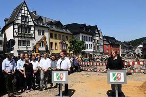 德國洪災清理難度高 政府承諾提供緊急援助