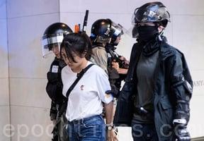 中環千人抗議 憤怒的外國人罵退港警