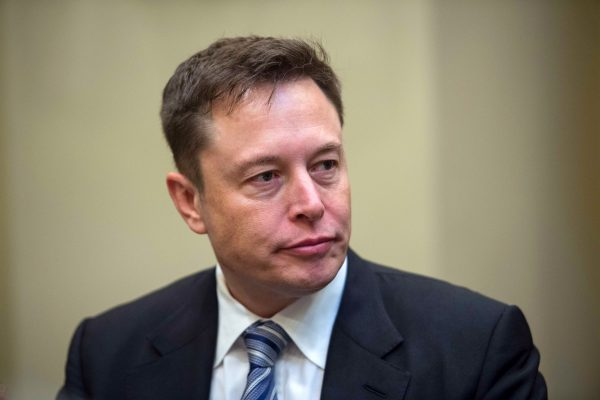 美國電動車大廠特斯拉(Tesla)執行長馬斯克(Elon Musk),圖為資料照。 (AFP)