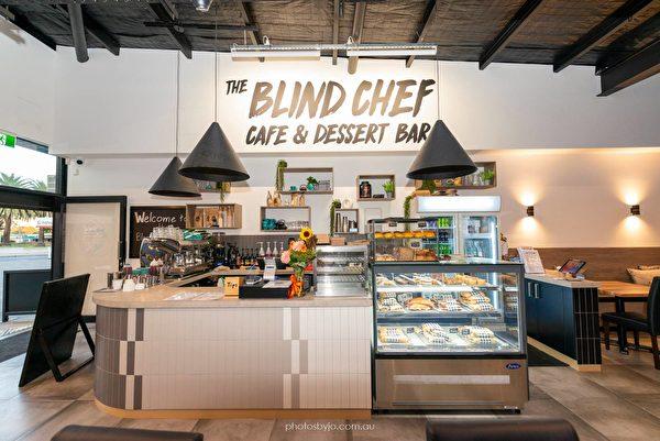 盲廚克雷格‧沙納漢的咖啡館(由潘瑞斯盲廚提供)