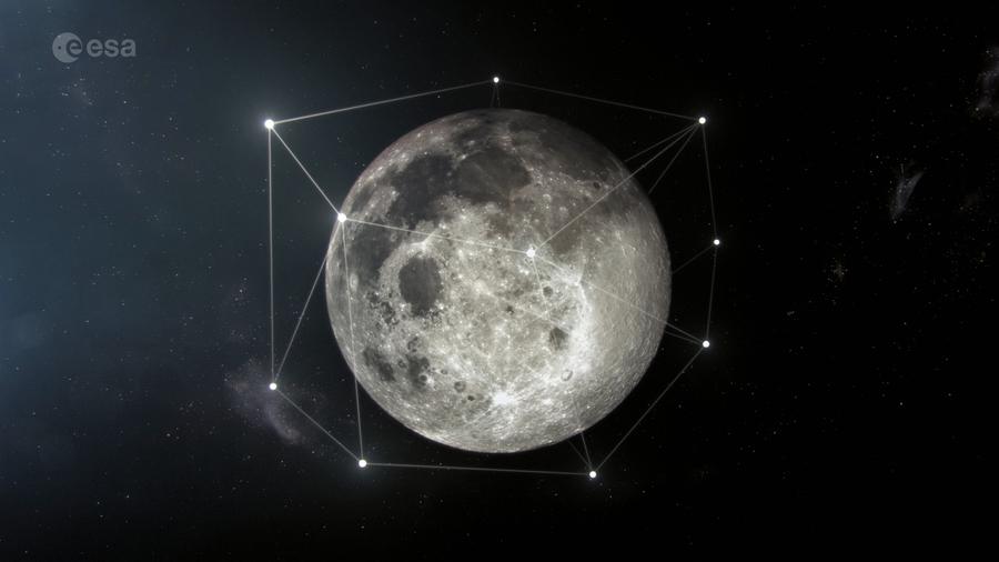 歐洲太空局將建月球群陣衛星網絡