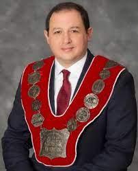 安省蘇聖瑪麗市(Sault Ste.Marie)市長克里斯蒂安·普羅文薩諾(Christian C.Provenzano)恭祝法輪大法傳世29周年。