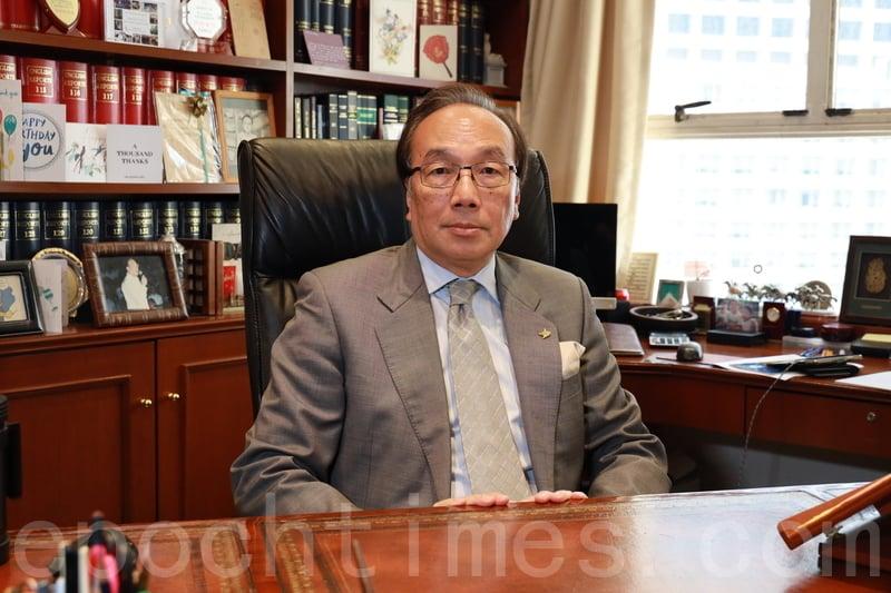 香港資深大律師梁家傑直言較想像速度快,相信是港人抗爭感動全球,成為自由民主國家和極權的對決。資料圖(王偉明/大紀元)