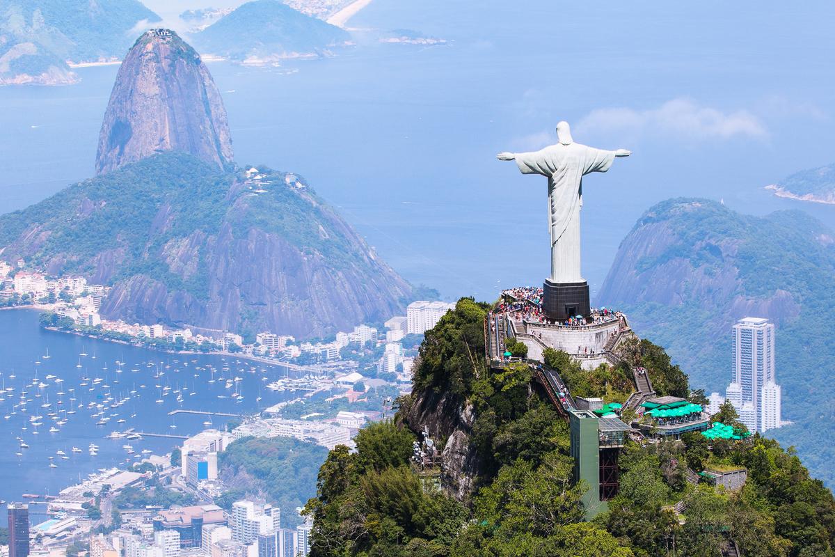 加拿大人去巴西免簽證。圖為巴西里約熱內盧。(Shutterstock)