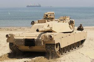 為電子戰做準備 美軍MIA1坦克配抗干擾裝置