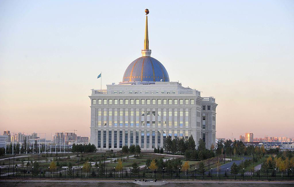 哈薩克斯坦總統府。(John Macdougall/AFP/Getty Images)