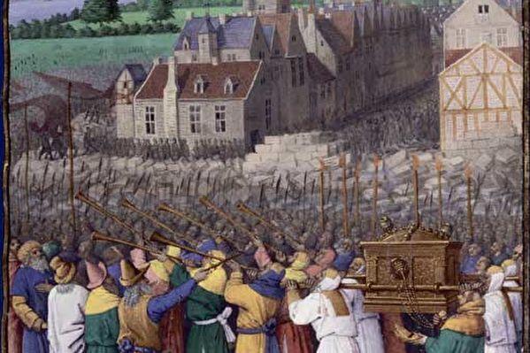 神啟──耶利哥城牆倒塌的寓意