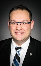 沙斯卡寸旺省省國會議員沃倫·斯坦利(Warren Steinley)