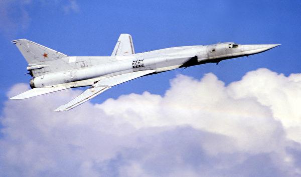 俄羅斯的Tu-22轟炸機。(STR/AFP via Getty Images)
