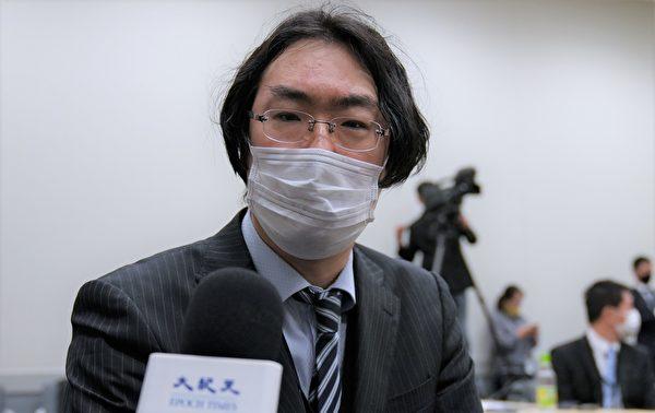3月30日SMG聯盟總會上,濱松醫科大學醫學院醫學法律教授大磯義一郎發表了主題演講。(清雲/大紀元)