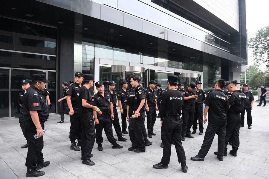 江蘇公安內部人爆料:泰興警察自殺案遭封鎖