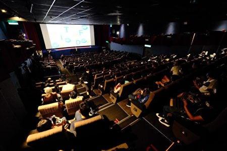 台灣香港協會舉辦《理大圍城》及《佔領立法會》兩部電影放映會。(台灣香港協會Facebook)