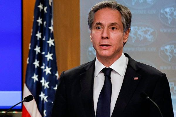 美國國務卿安東尼·布林肯(Antony Blinken)(CARLOS BARRIA/POOL/AFP)
