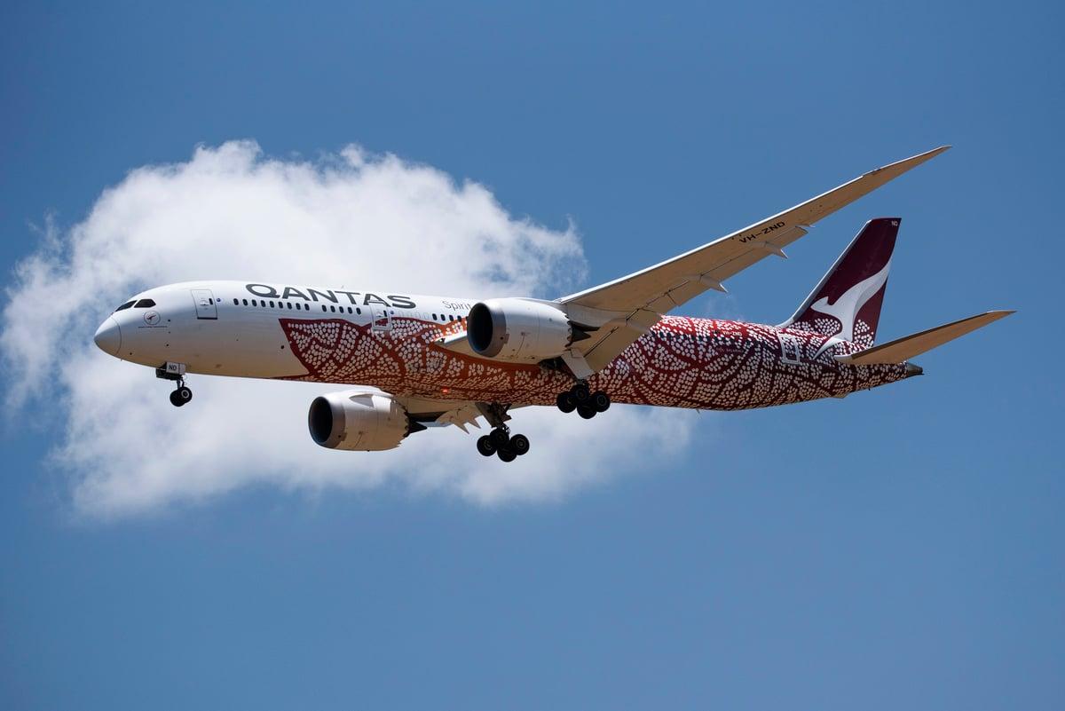聯邦預算公佈後,澳航宣佈取消10月31日至12月20日之間的國際航班,但紐西蘭航線除外。(Lisa McTiernan/Getty Images)