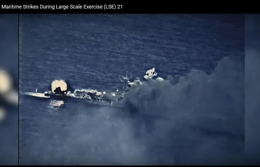 沈舟:美軍給中共演示甚麼叫實彈演習
