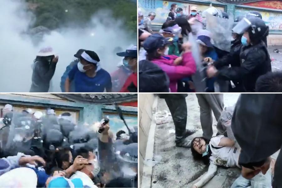 北京昌平清晨強拆 業主抵抗遭警噴辣椒水