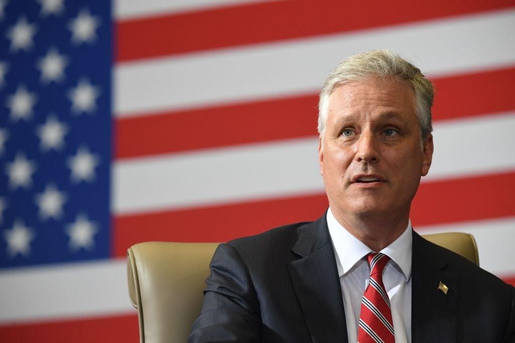 美國白宮國家安全顧問羅伯特‧奧布萊恩(Robert O'Brien)。(SAUL LOEB/AFP via Getty Images)