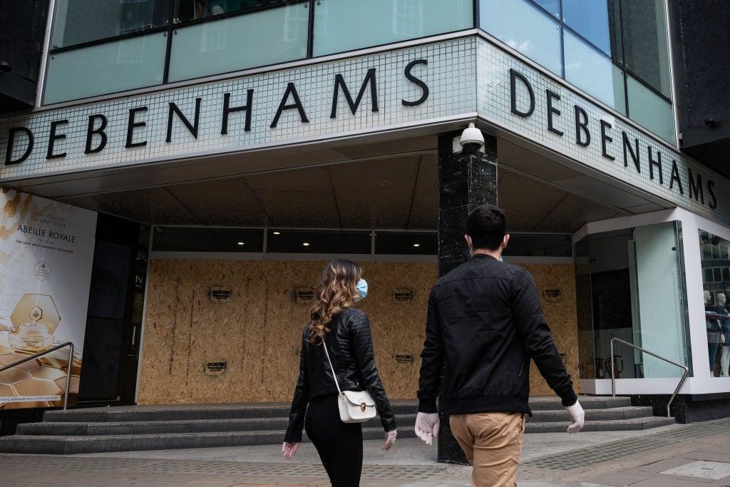 Debenhams擁有242年的歷史,但是近幾年一直經營不善。(Leon Neal/Getty Images)