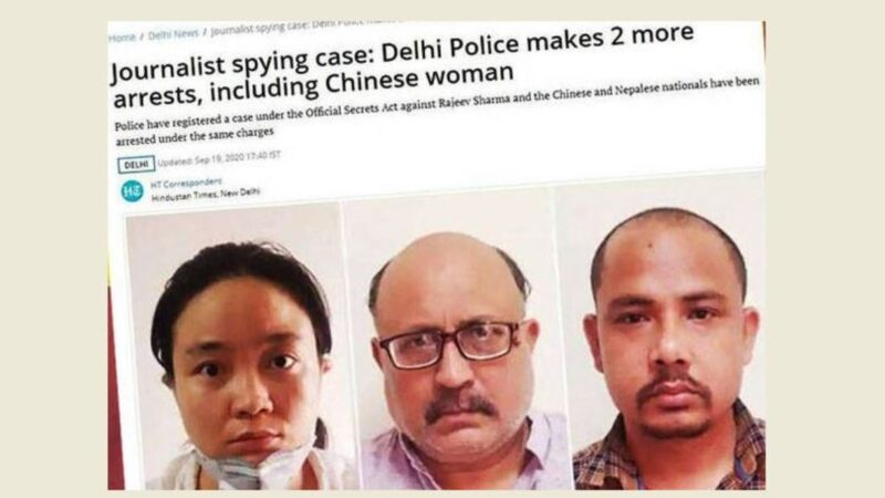 印度記者涉嫌共諜被捕 胡錫進「卸磨殺驢」