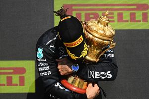 F1英國大獎賽 咸美頓第8度奪冠