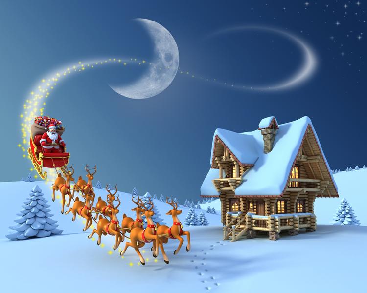 北美航空航天防禦司令部(NORAD)延續一個美麗的錯誤,在每年聖誕夜告訴孩子們聖誕老公公的行蹤。(fotolia)