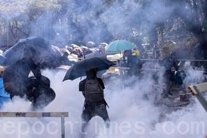 香港民調:暴力升級 港府和警方責任難逃