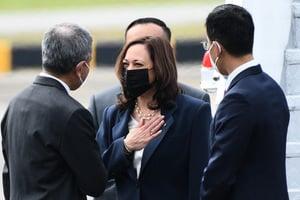 美國副總統賀錦麗抵新加坡訪問 加強盟友關係抗衡中共