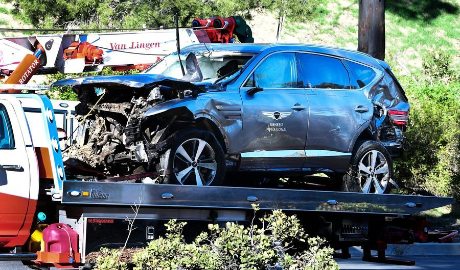 Tiger Wood疑車禍失憶 不記得自己曾開車