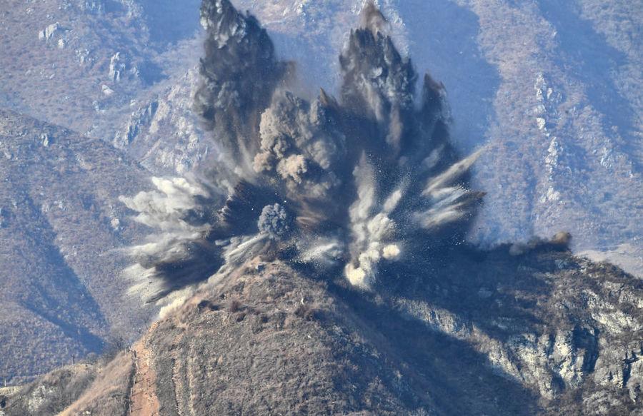 南韓發視頻:北韓炸毀非軍事區的10個哨所