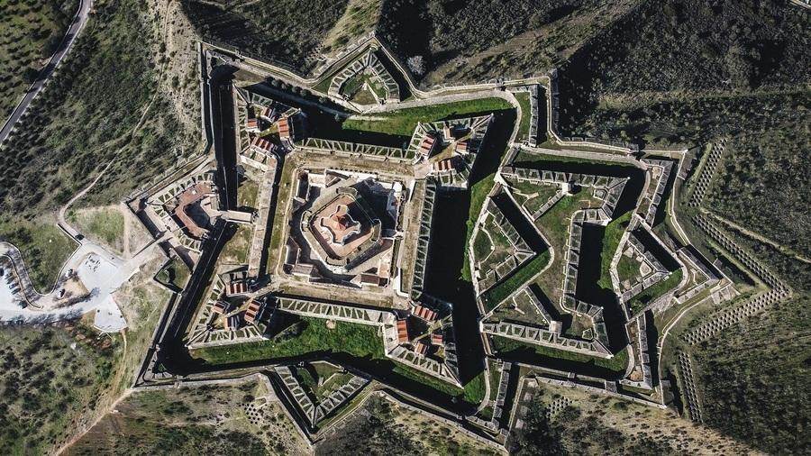 葡萄牙具有特色的星形城堡 易守難攻