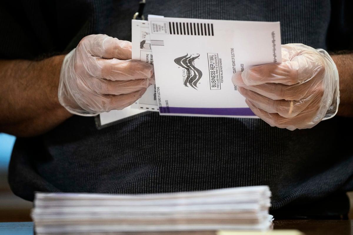 無論總統唐納德·特朗普或前副總統祖·拜登是否宣佈當選,選舉戰都才剛剛開始。圖為資料圖。(Drew Angerer/Getty Images)
