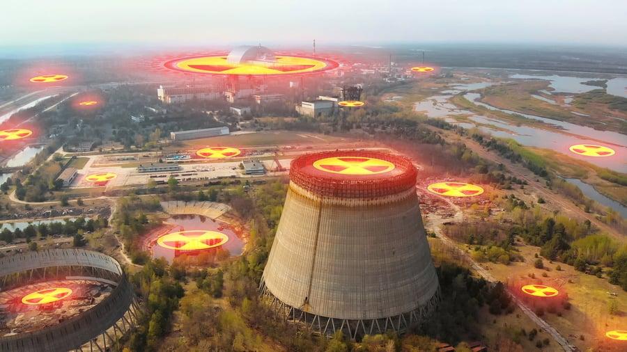 切爾諾貝爾廢墟核反應「死灰復燃」
