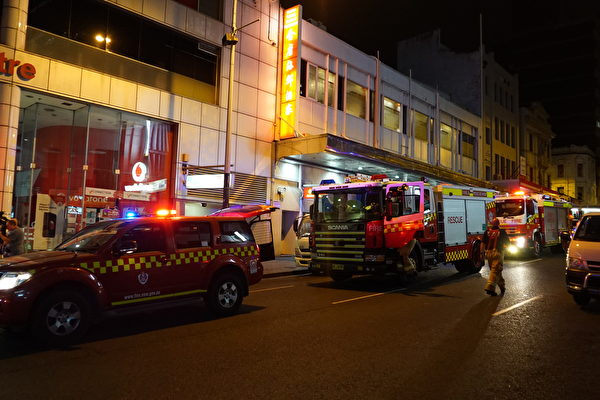 悉尼唐人街煤氣爆炸 十餘人受傷