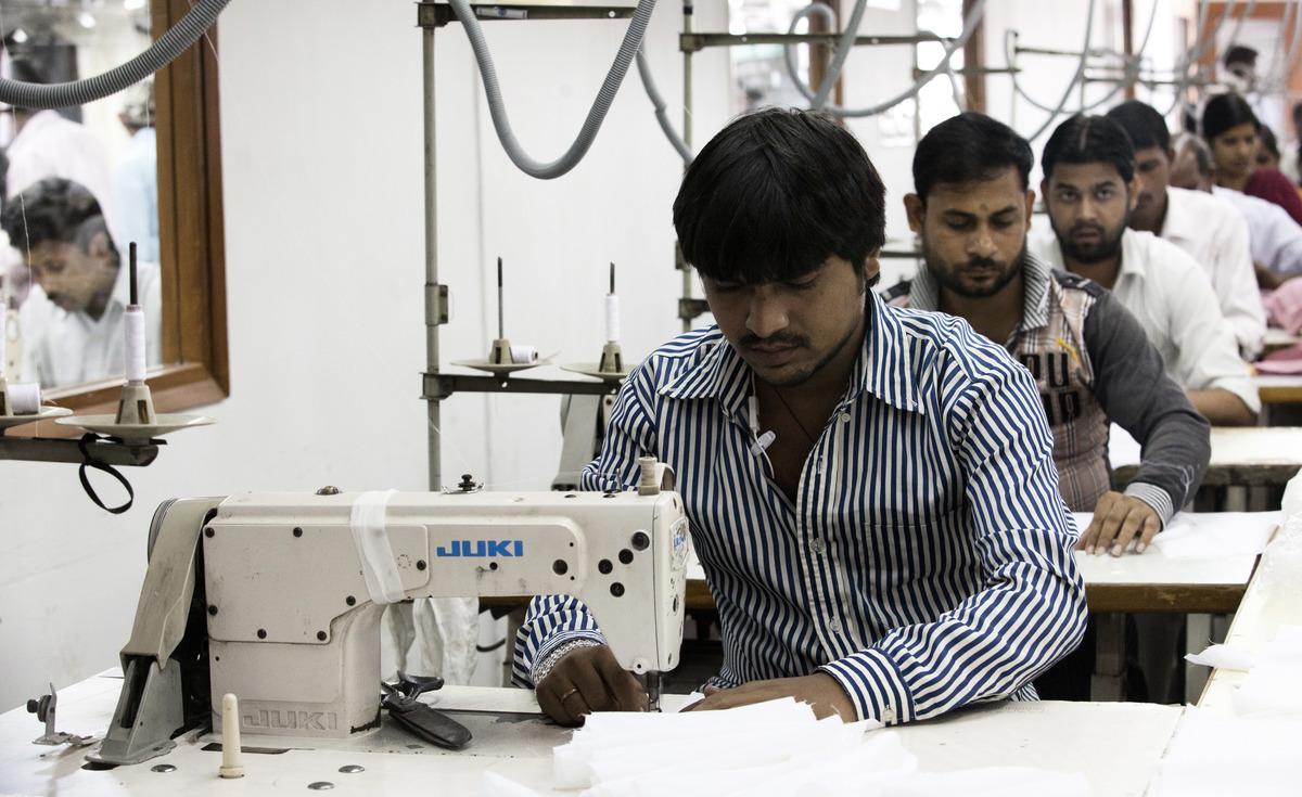 美印戰略夥伴關係論壇(The US-India Strategic Partnership Forum,簡稱USISPF)表示,數百家美國公司正在計劃將製造基地從中國大陸轉出到印度。(Andrew Caballero-Reynolds/AFP/Getty Images)